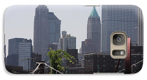 Galaxy Case featuring the photograph New York Contrasts by Vadim Levin