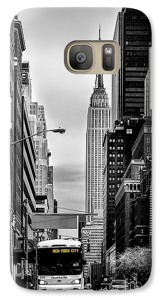 Empire State Building Galaxy S7 Case - New York Express by Az Jackson