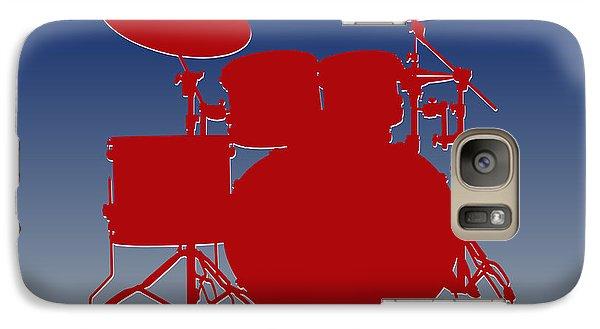 New York Giants Drum Set Galaxy S7 Case by Joe Hamilton