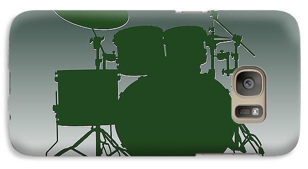 New York Jets Drum Set Galaxy S7 Case by Joe Hamilton