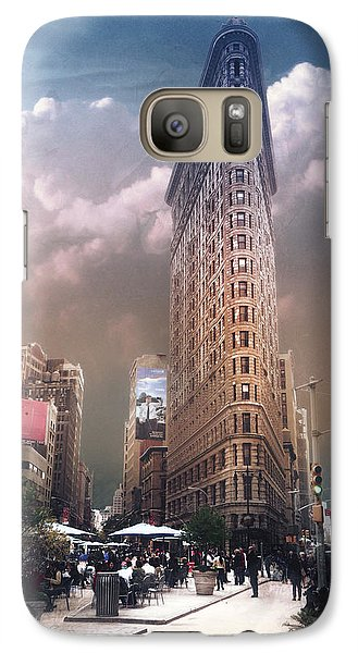 Galaxy Case featuring the photograph New York by John Rivera