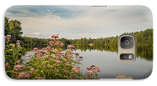 Galaxy Case featuring the photograph New York Lake by Debbie Green