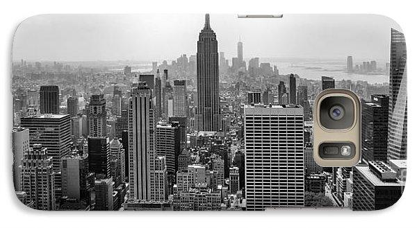 Empire State Building Galaxy S7 Case - New York Moody Skyline  by Az Jackson