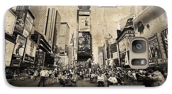 Galaxy Case featuring the photograph New York New York by Barbara Manis