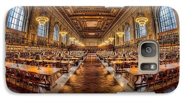 New York Public Library Main Reading Room Vii Galaxy S7 Case