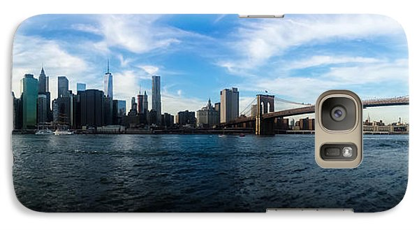 New York Skyline - Color Galaxy S7 Case by Nicklas Gustafsson