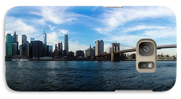 Empire State Building Galaxy S7 Case - New York Skyline - Color by Nicklas Gustafsson