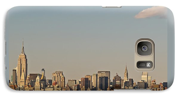 Galaxy Case featuring the photograph New York Skyline by Kerri Farley
