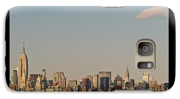 Galaxy Case featuring the photograph New York City Skyline by Kerri Farley