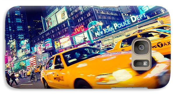 New York - Times Square Galaxy Case by Alexander Voss