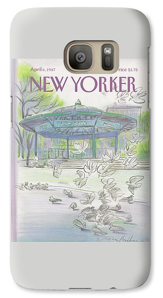 New Yorker April 6th, 1987 Galaxy S7 Case