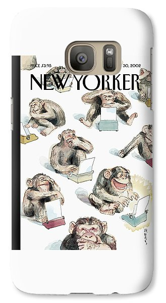 New Yorker December 23rd, 2002 Galaxy S7 Case