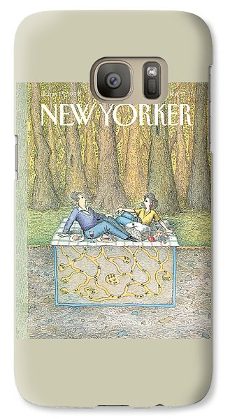 Ant Galaxy S7 Case - New Yorker June 15th, 1992 by John O'Brien