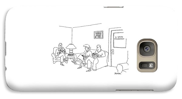 New Yorker May 12th, 1997 Galaxy S7 Case by Jack Ziegler