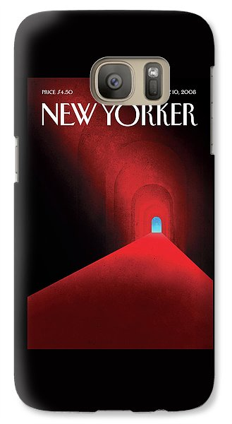Barack Obama Galaxy S7 Case - New Yorker November 10th, 2008 by Brian Stauffer