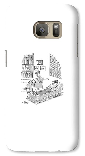 New York Yankees Galaxy S7 Case - New Yorker November 1st, 1999 by Peter Steiner
