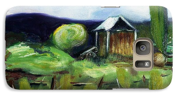 Galaxy Case featuring the painting New Zealand Impressions by Therese Alcorn