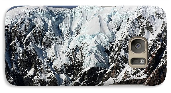 Galaxy Case featuring the photograph New Zealand Mountains by Amanda Stadther