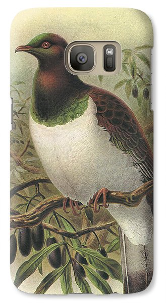New Zealand Pigeon Galaxy S7 Case by Rob Dreyer