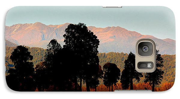Galaxy Case featuring the photograph New Zealand Silhouette by Amanda Stadther