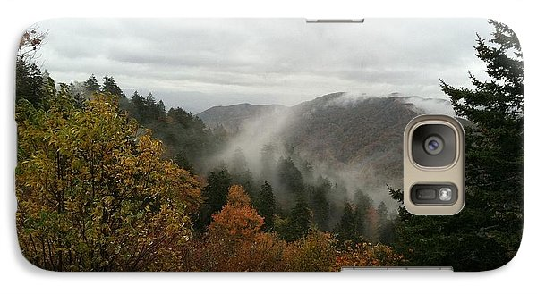 Galaxy Case featuring the photograph Newfound Gap Overlook Tennessee by Brian Johnson
