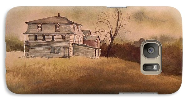 Galaxy Case featuring the painting Newport Vermont by Joy Nichols