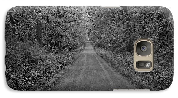 Galaxy Case featuring the photograph Next Stop..middle Of Nowhere by John Crothers