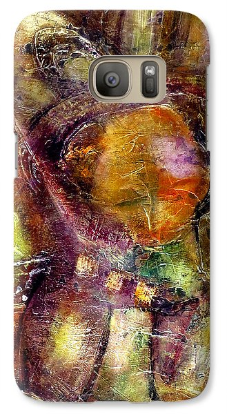Galaxy Case featuring the painting Nexus by Katie Black