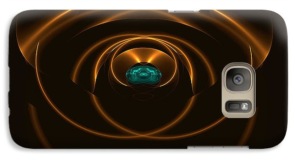Galaxy Case featuring the digital art Nexus by Linda Whiteside