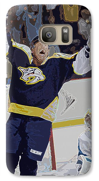 Galaxy Case featuring the photograph Nhl Playoff Hockey by Don Olea