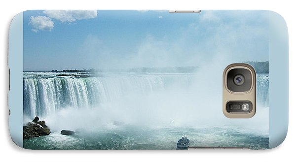 Galaxy Case featuring the photograph Niagara Falls In Spring by Phil Banks