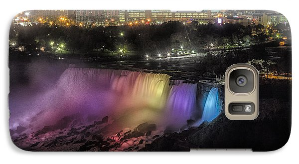 Galaxy Case featuring the photograph Niagara Falls by JRP Photography