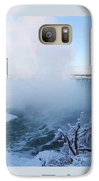 Galaxy Case featuring the photograph Niagara Falls -  Minus 20 C by Phil Banks
