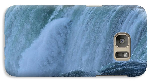 Galaxy Case featuring the photograph Niagara Falls - Power by Phil Banks