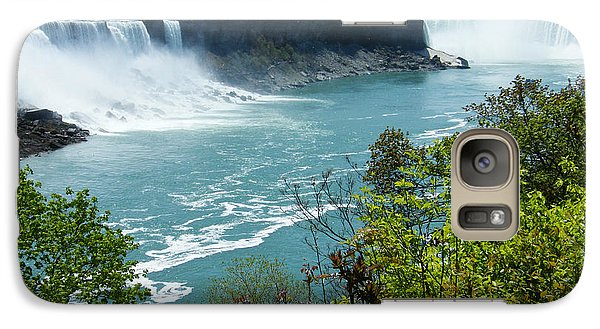 Galaxy Case featuring the photograph Niagara Falls - Springtime by Phil Banks