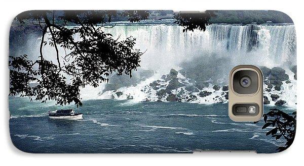 Galaxy Case featuring the photograph Niagara Falls by Tom Brickhouse