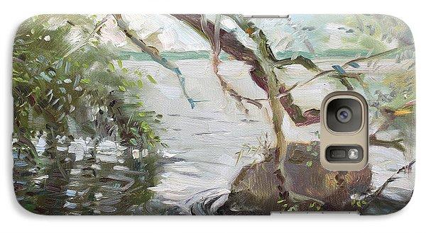 Seagull Galaxy S7 Case - Niagara River Side by Ylli Haruni