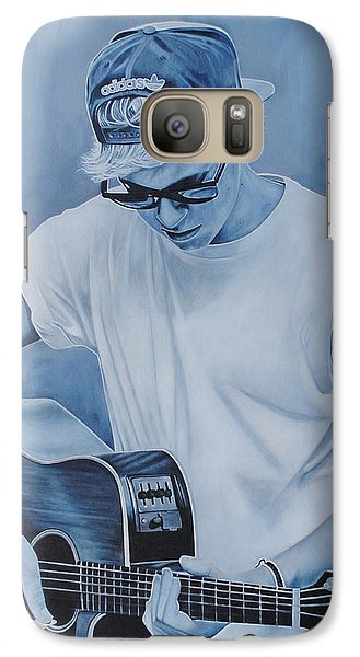 Galaxy Case featuring the painting Niall Horan by David Dunne