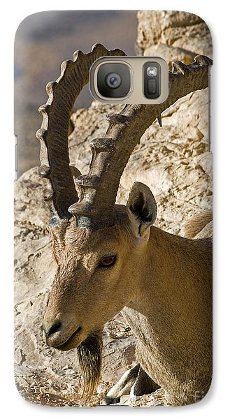 Galaxy Case featuring the photograph Nice Guy by Arik Baltinester