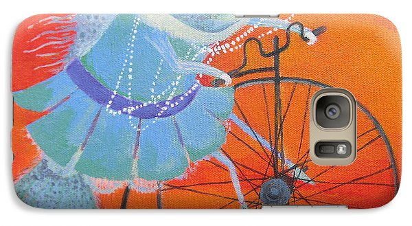 Galaxy Case featuring the painting Niece Sonia by Marina Gnetetsky