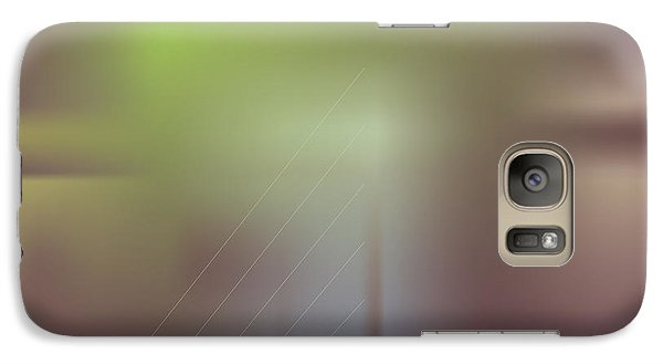 Galaxy Case featuring the digital art Night Bridge by Kevin McLaughlin
