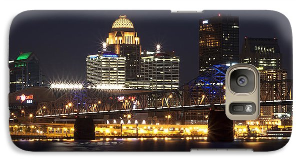 Galaxy Case featuring the photograph Night Descends Over Louisville City by Deborah Klubertanz