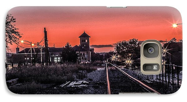 Galaxy Case featuring the photograph Night Falls by Ray Congrove