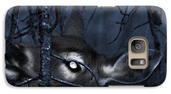 Galaxy Case featuring the photograph Night Grazing by Janie Johnson