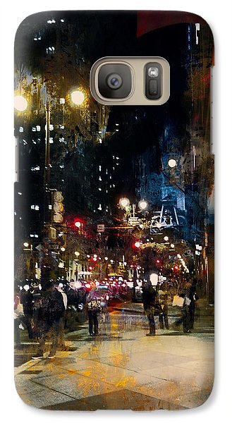 Galaxy Case featuring the photograph Night In The City by John Rivera