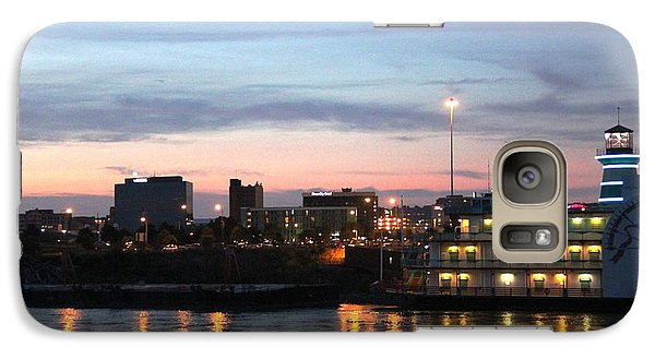 Galaxy Case featuring the photograph Night Of Sioux City by Yumi Johnson
