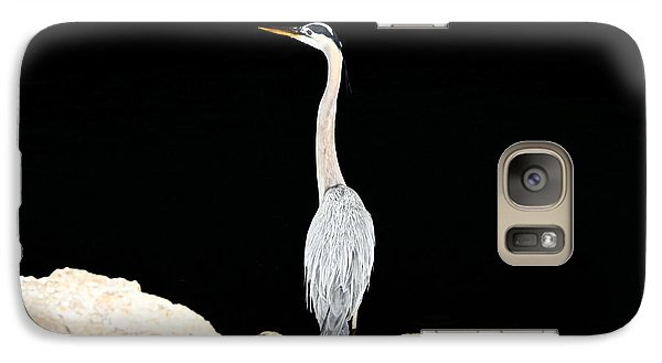 Night Of The Blue Heron  Galaxy S7 Case by Anthony Baatz