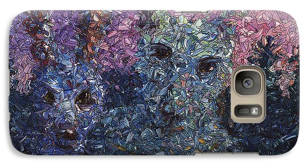 Galaxy Case featuring the painting Night Offering by James W Johnson