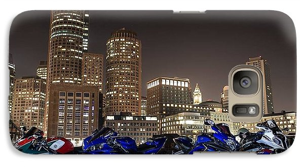Galaxy Case featuring the photograph Night Out by Lawrence Christopher
