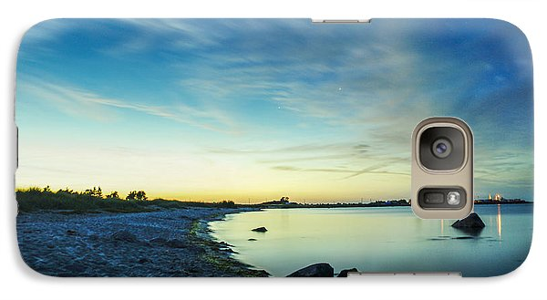Galaxy Case featuring the photograph Night Overtaking The Sky by Alex Weinstein